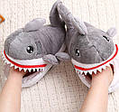 Домашние тапочки Акулы, фото 2