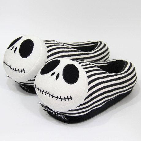 Домашние тапочки Скелет Джек