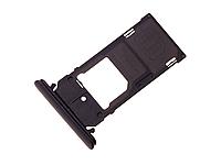 Трей держатель сим карты, зеленый SONY Xperia XZ2 Compact H8324 (1313-0975), оригинал