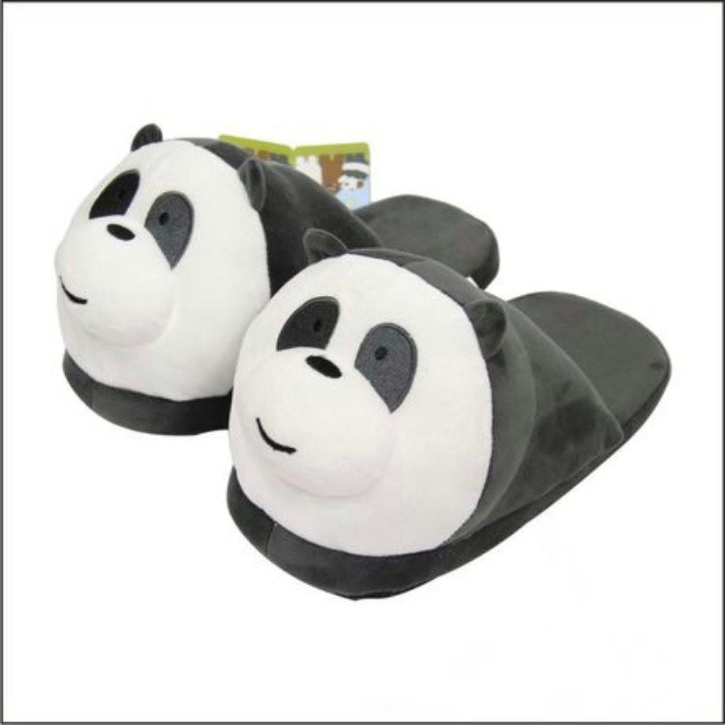 Домашние тапочки Панды