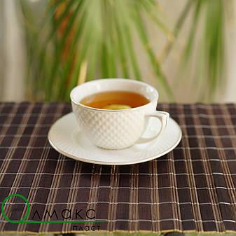 Бамбуковая салфетка двухсторонняя для сервировки стола в кафе,рестораны и для дома, 30см *45см, фото 2