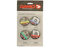 Пули пневматические Gamo Perfomance Combo (набор из 4 видов Red Fire/PBA Raptor/Rocket/PBA Armor) кал.4,5 мм (6320928)