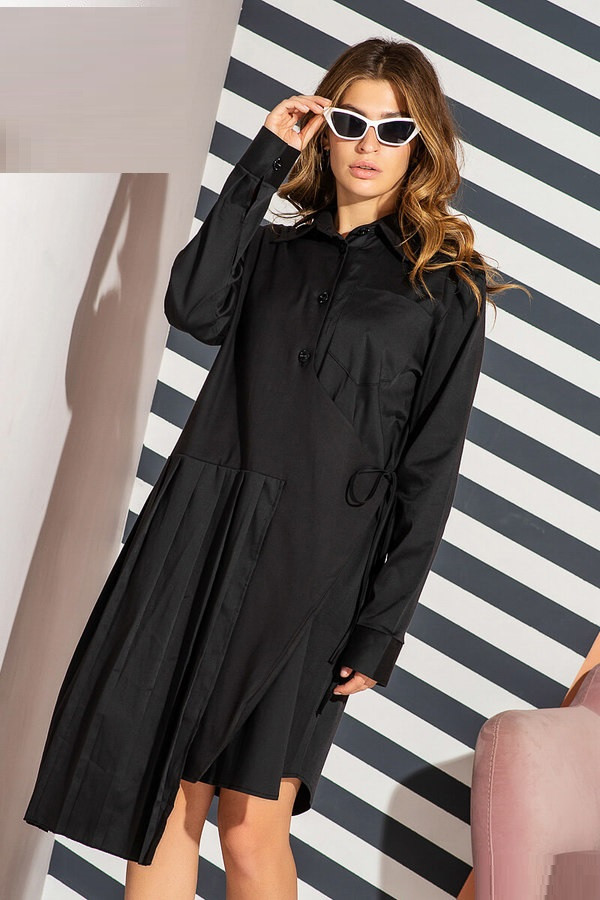 Стильное платье - рубашка 5030