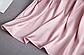 Пижама атласная женская розовая П112, фото 4
