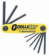 Набор дюймовых шестигранников Bondhus 12591 GorillaGrip 5/64-1/4-дюйма