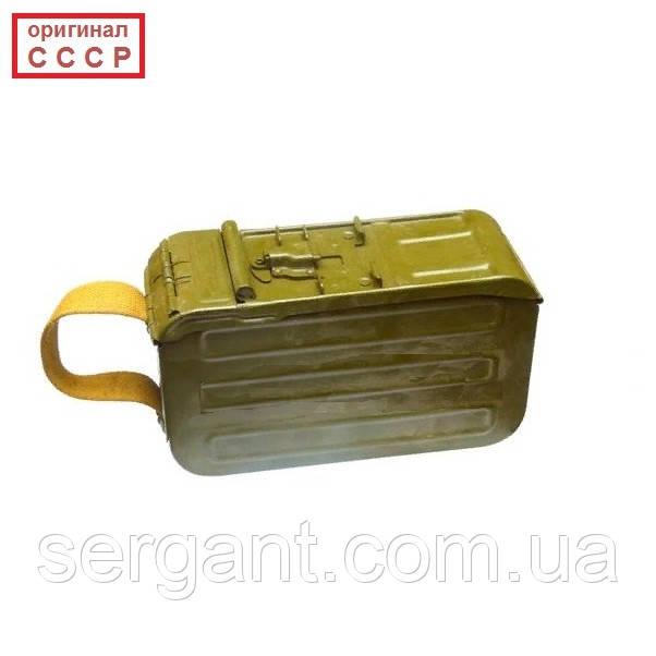 Короб ПКМ на 100 патронов без патронной ленты (оригинал СССР)