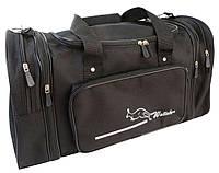 Дорожная сумка с расширением 40 л Wallaby 365-2 черная
