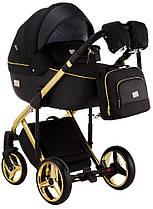Дитяча універсальна коляска 2 в 1 Adamex Luciano Polar Gold Q85