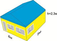 Изготовление продажа торговых павильонов МАФ 5х6м.