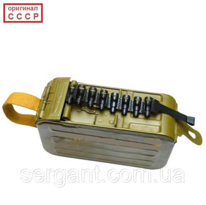 Короб ПКМ на 100 патронов с патронной лентой (оригинал СССР)