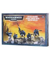 Вархаммер 40000 Скауты-снайперы Космического Десанта (Warhammer 40000: Space Marine Scouts With Sniper Rifles) настольная игра