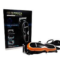 Профессиональная машинка для стрижки волос Gemei GM-817 с 4 насадками и средством для дезинфекции - Жми КУПИТЬ!