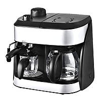Кофе-машина и эспрессо-машина Team Kalorik 2-в-1, Б/У
