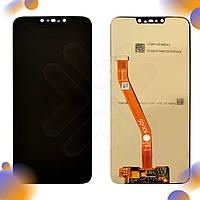 Дисплей для Huawei P Smart Plus, Nova 3i (INE-LX1) с тачскрином в сборе, цвет черный, оригинал