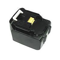 Аккумулятор для шуруповерта Makita 194065-3, 194066-1, 194558-0, 194559-8, BL1415, BL1430, BL1440 3.0Ah 14.4V черный
