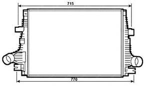 Интеркулер Альфа Ромео 145/146 / ALFA ROMEO 145/146 (1994-2001)