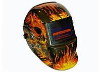 Сварочная маска хамелеон Титан S777-02  (пламя)