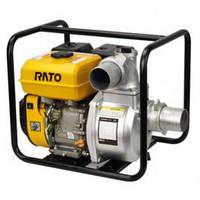 Мотопомпа бензиновая Rato RT150ZB20-7.2Q (12 л.с., 2240 л/мин)