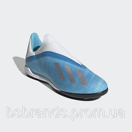 Мужские футбольные бутсы(сороконожки) Adidas X 19.3 TF (Артикул:EF0632), фото 2