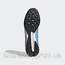 Мужские футбольные бутсы(сороконожки) Adidas X 19.3 TF (Артикул:EF0632), фото 3