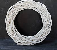 Венок из лозы белой 70 см, фото 1