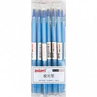 Ручка «пишет-стирает» 1025 СИНЯЯ голуб.кор / гелевая, пише-стирає, стирачка, вытирает свои чернила пиши-стирай