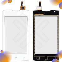 Тачскрин для телефона Lenovo A1000, цвет белый