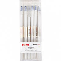 Ручка «пишет-стирает» 1025 СИНЯЯ белый кор / гелевая, пише-стирає, стирачка, вытирает свои чернила пиши-стирай