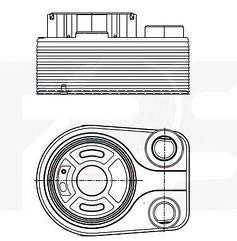 Масляный радиатор Мерседес A-Class W169 / MERCEDES A-Class W169 (2004-2012 )