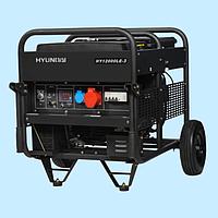 Генератор бензиновый трехфазный HYUNDAI HY 12000LE-3 (9.0 кВт)