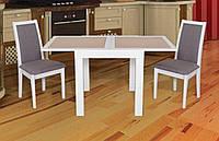 Стол обеденный Оникс (белый)