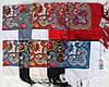 Платок павлопосадский синий шерстяной (140см) 606012, фото 4
