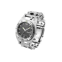 Часы-браслет LEATHERMAN Tread Tempo серебро (832421)