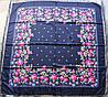 Платок павлопосадский шерстяной (140см) 606020, фото 3
