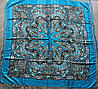 Платок павлопосадский шерстяной (140см) 606023, фото 3