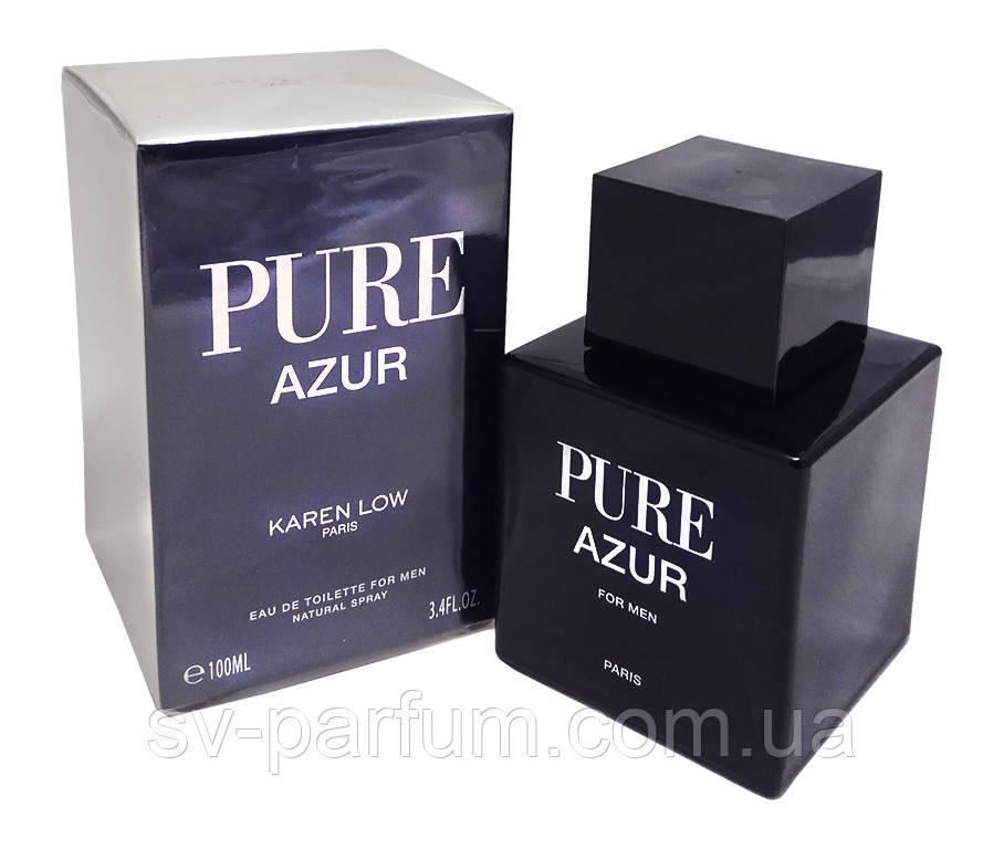 Туалетная вода мужская Pure Azur 100ml