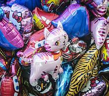 Фольговані кульки великі фігури