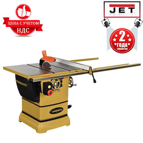 Настольная циркулярная пила JET Powermatic PM1000-400 (3 кВт, 250 мм, 380 В), фото 1