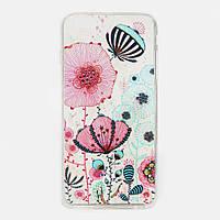 """Чехол накладка Бабочки Цветочки для iPhone 6 Plus 5.5"""""""