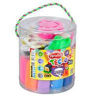 Тесто для лепки Danko Toys Master Do 18 цветов Разноцветный (gab_krp68JMPX34031)