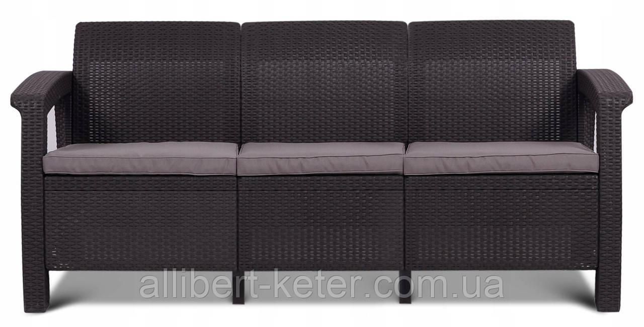 Комплект садовой мебели Allibert Corfu Love Seat Max