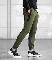 Мужские спортивные штаны, чоловічі спортивні штани Хаки (ПРЕМИУМ КАЧЕСТВО)