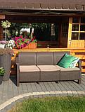 Комплект садовой мебели Allibert Corfu Love Seat Max, фото 2