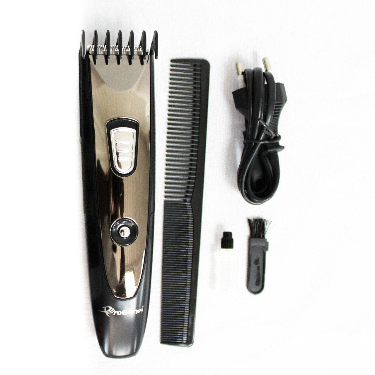 🔥 Беспроводная машинка для стрижки волос и бороды Gemei GM-6071. Триммер Gemei GM-6071