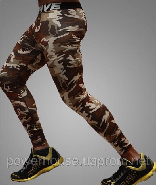 Компрессионные штаны Take Five камуфляж