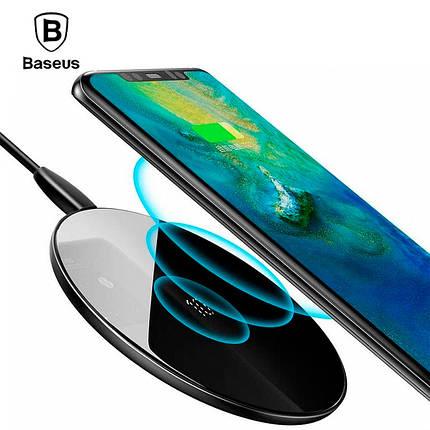 Беспроводное зарядное устройство Baseus Simple Wireless Charger CCALL-CJK01 (Черное), фото 2