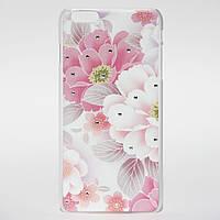 "Чехол накладка Epik для iPhone 6 Plus 5.5"" Розовые цветы"