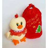 Петушок с мешком для подарка(Мяк 029020)