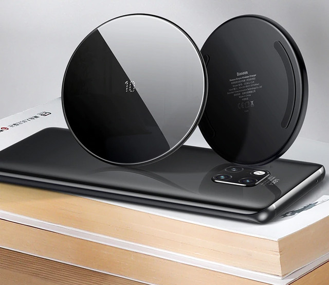 Переваги швидкої бездротової зарядки для телефону Baseus Simple - Чорна (CCALL-CJK01)