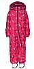 Зимний комбинезонLEGOWear(Дания) для девочки 98, 104, 110, 116, 122 см сдельный розовый
